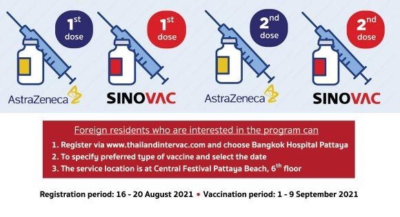 bangkok-hostpial-pattaya covid impfung ausländer